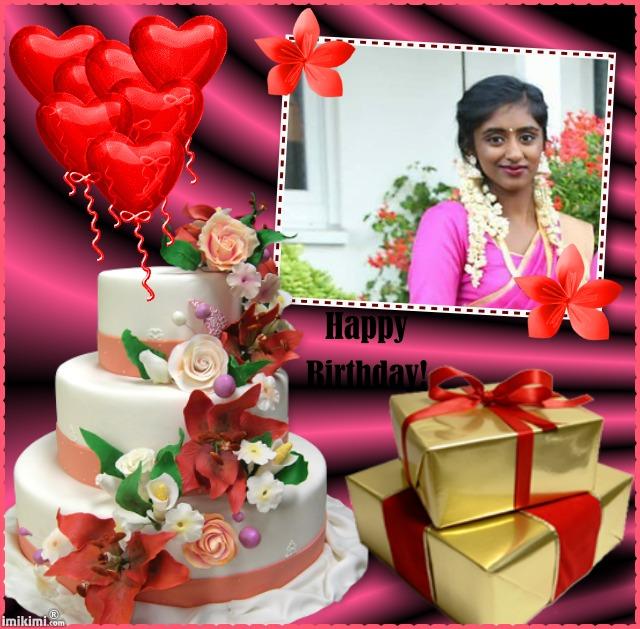 பாடகி செல்வி சுதேதிகா தேவராசா20வது பிறந்தநாள் வாழ்த்து: