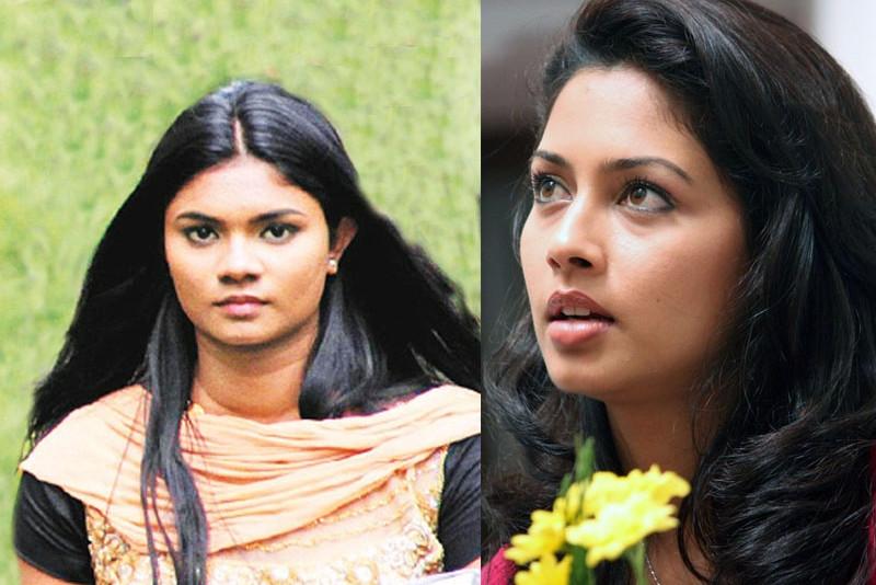 தமிழகத்தை கலக்க வருகிறார் ஓவியா என்ற பெயருடன்,ஈழத்து  நடிகை மிதுனா..!