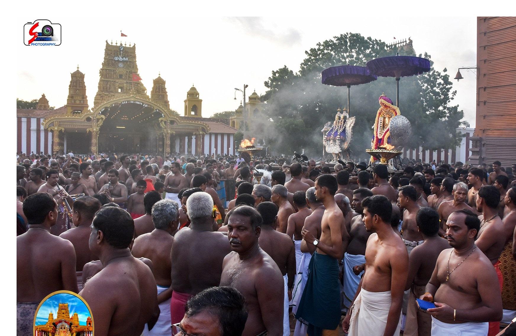 நல்லூர் கந்தசுவாமி ஆலய 3ஆம் திருவிழா(30.07.2017)