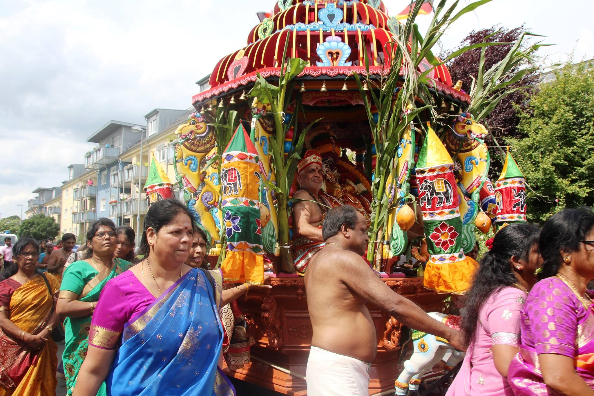 யேர்மன் சுவெற்றா கனகதுக்கா அம்பாள் ஆலய தேர்த் திருவிழா காணொளி