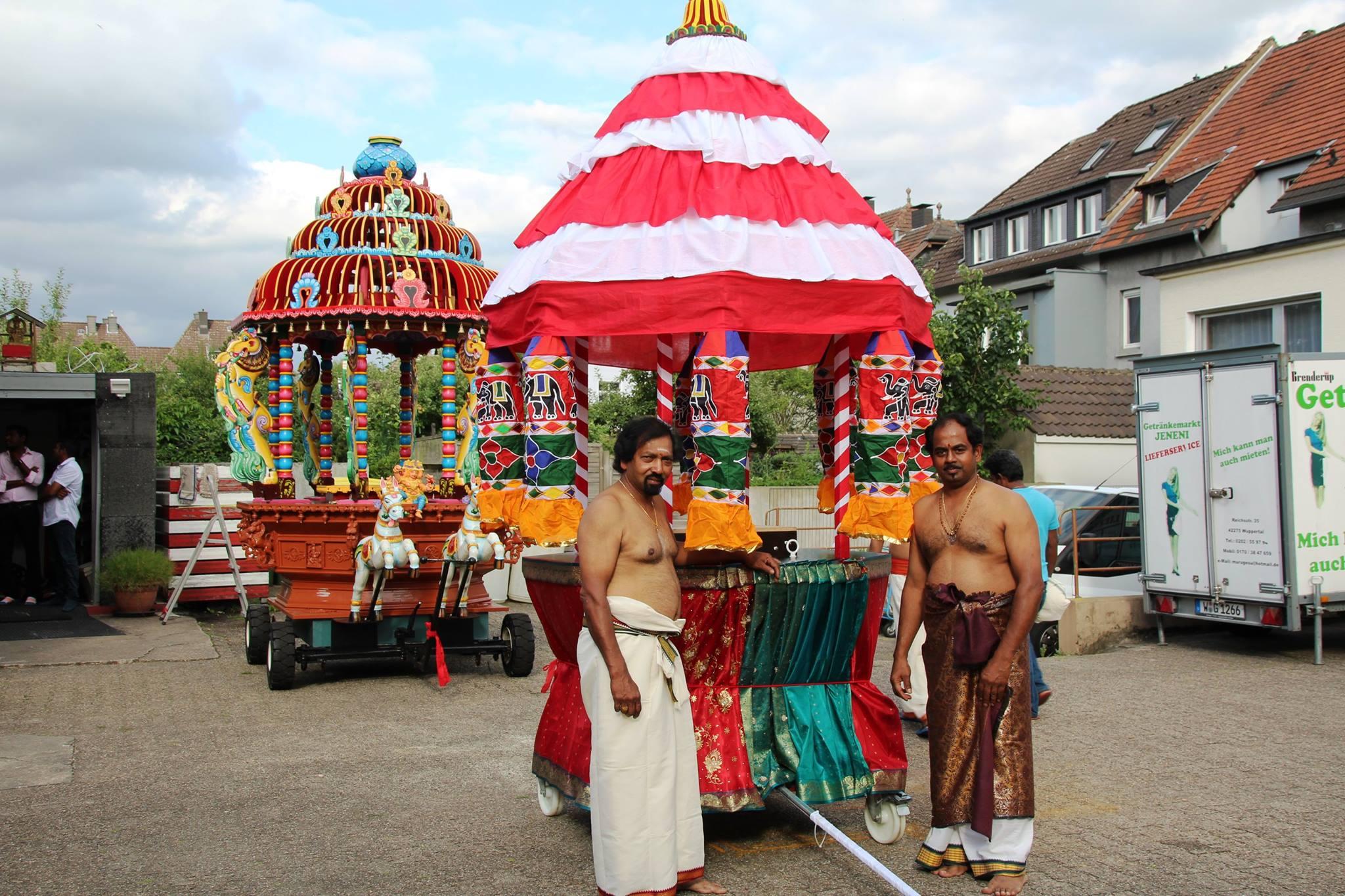 சுவெற்ரா கனகதூக்கா அம்பாள் ஆலய தேர்த் திருவிழா 30.07.17