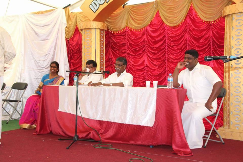 யேர்மனி கம் காமாட்சி மகோற்சவ வெள்ளிவிழாவில் பொ.ஸ்ரீஜீவகன்பட்டிமன்றம் இடம்பெற்றது