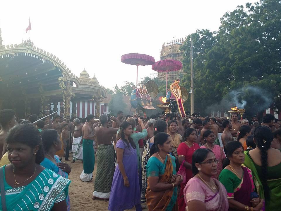 நல்லூர் கந்தசுவாமி ஆலய 4ஆம் திருவிழா(31.07.2017)