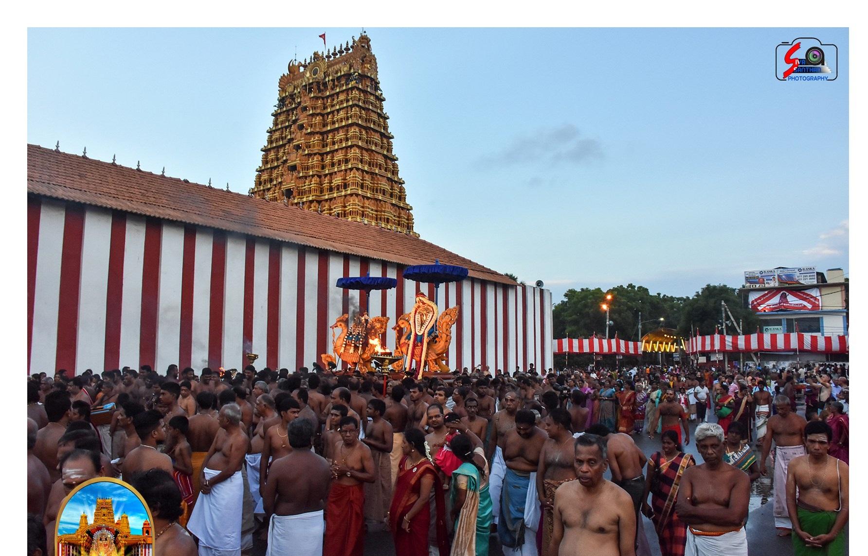 நல்லூர் கந்தசுவாமி ஆலய 5ஆம் திருவிழா(01.08.2017)