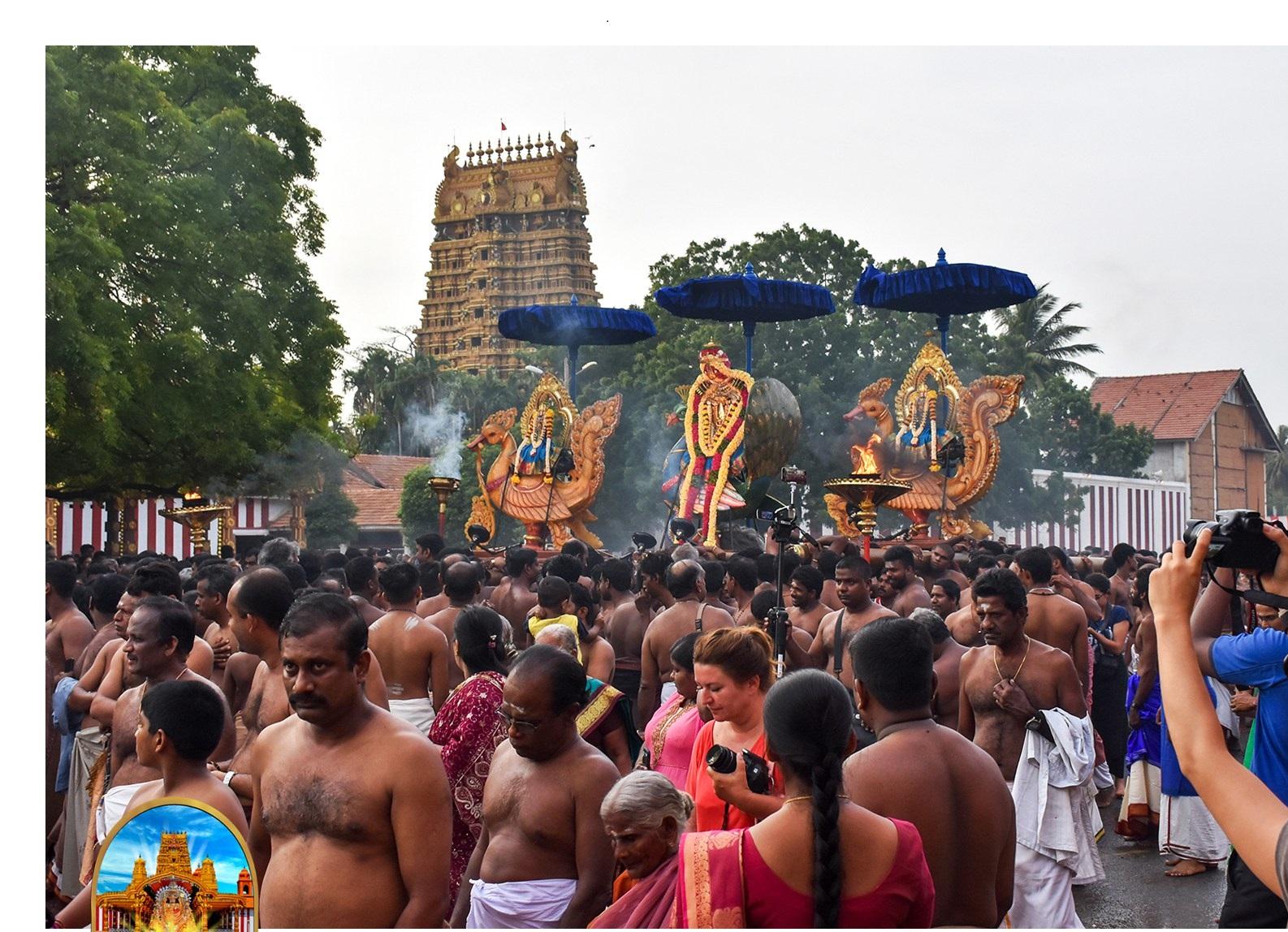 நல்லூர் கந்தசுவாமி கோவில் 11ம் திருவிழா – 07.08.2017