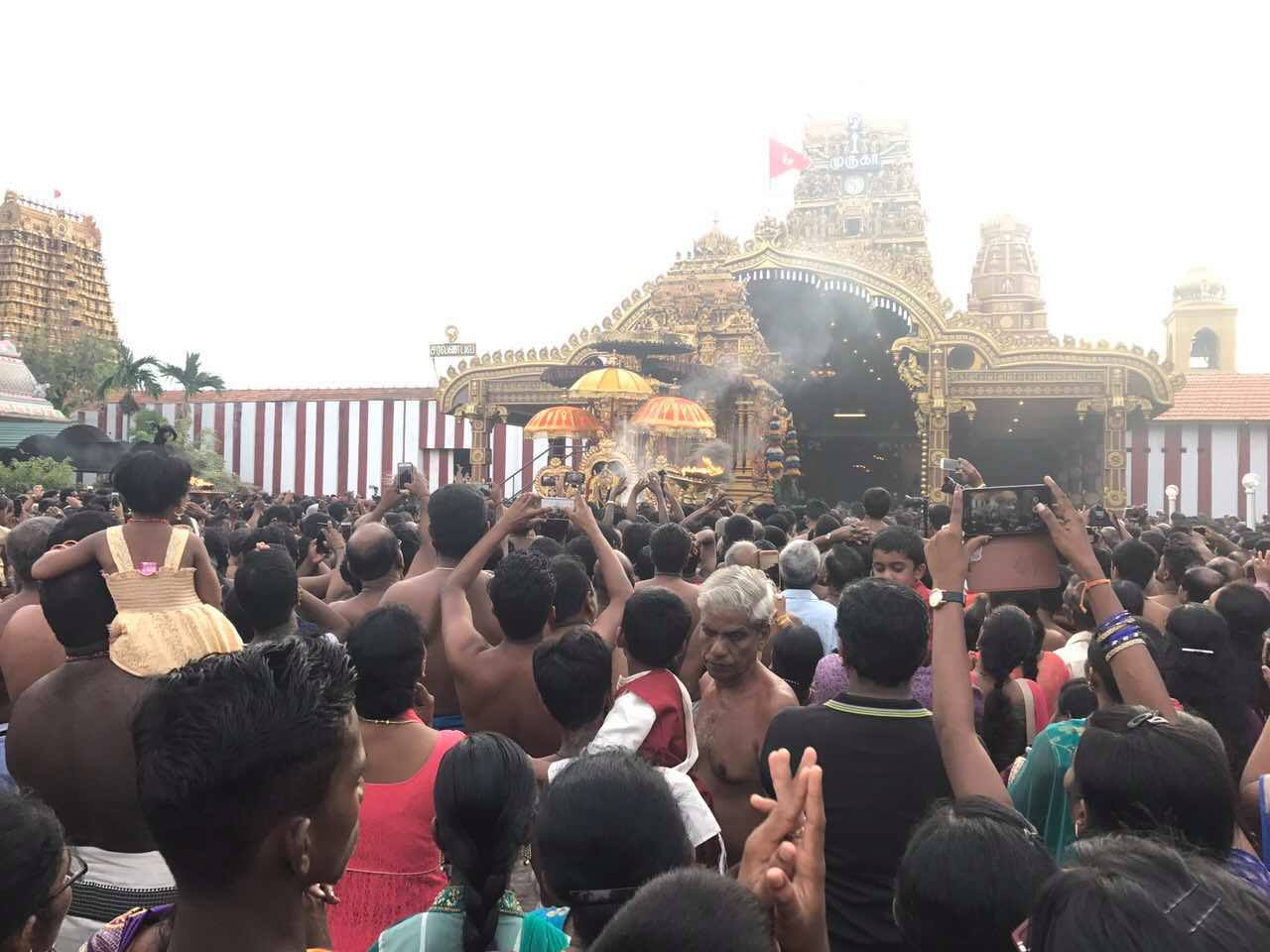 நல்லூர் கந்தசுவாமி மஞ்சத் திருவிழா(06.08.2017)