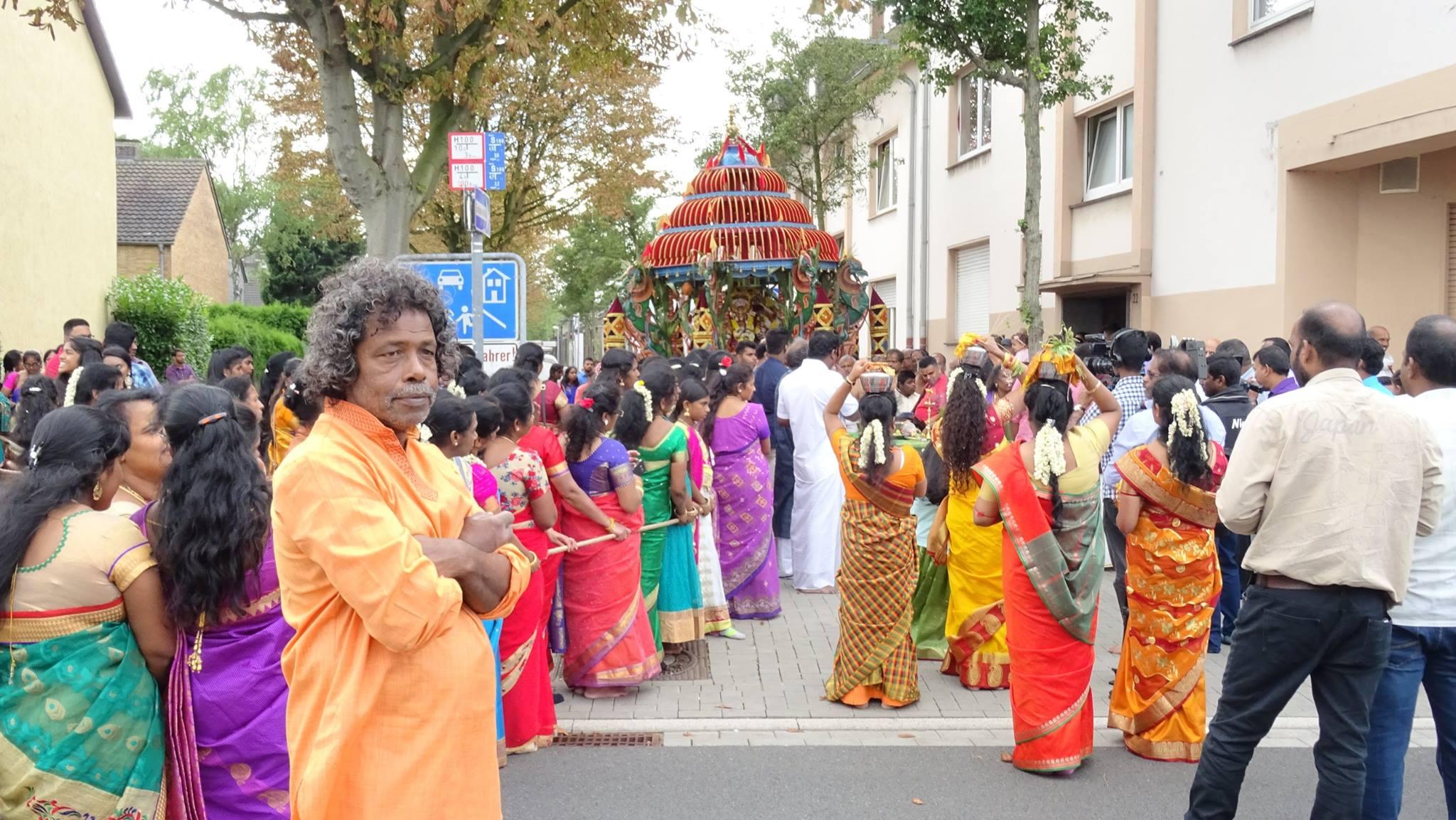 யேர்மனி -முல்கைம்குமாரசுவமி தேர்த்திருவிழா20.08.2017
