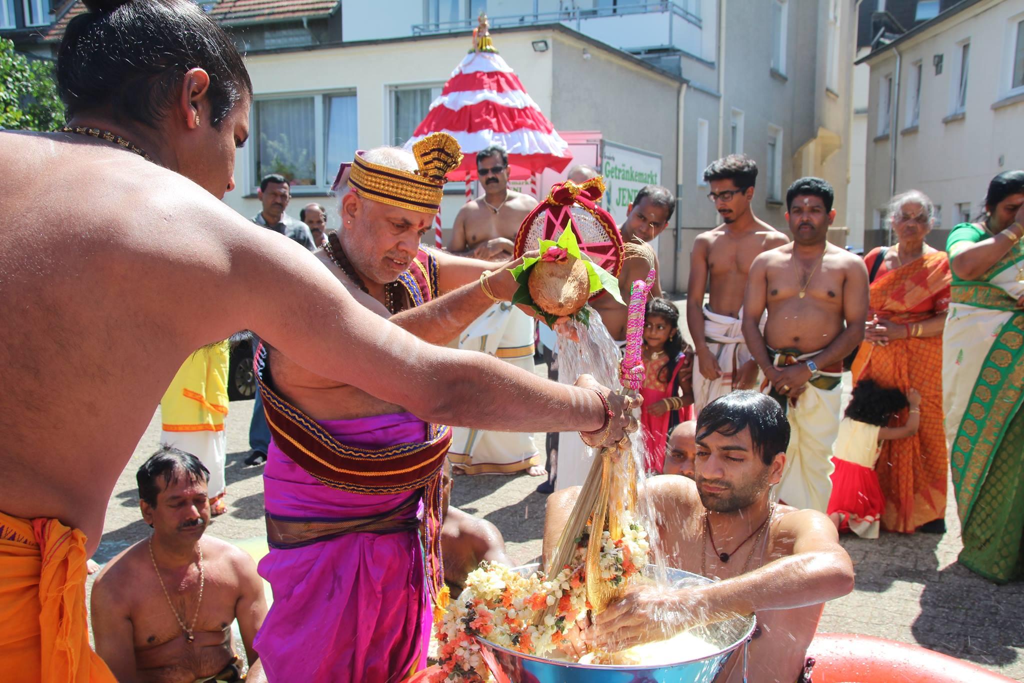 யேர்மன் சுவெற்றா கனகதுக்கா அம்பாள் ஆலய தீர்த்தத் திருவிழா