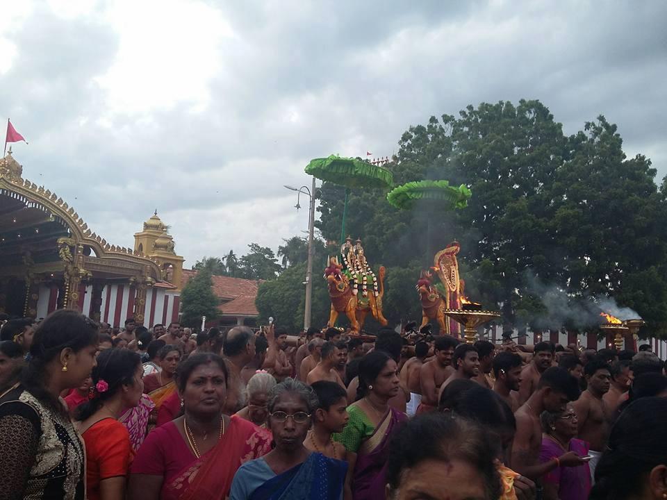 நல்லூர் கந்தசுவாமி ஆலய8ஆம் திருவிழா(04.08.2017)
