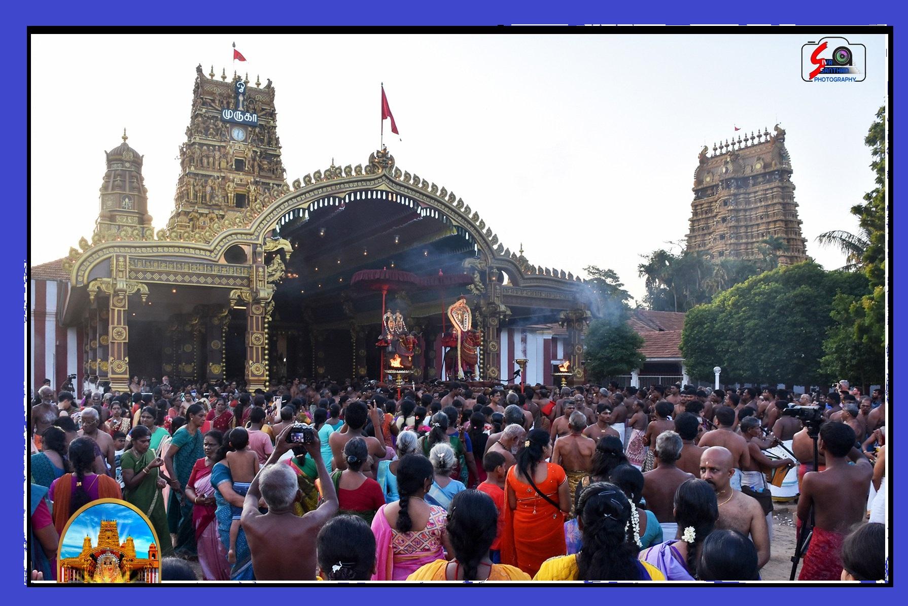 நல்லூர் கந்தசுவாமி ஆலய 6ஆம் திருவிழா(02.08.2017)