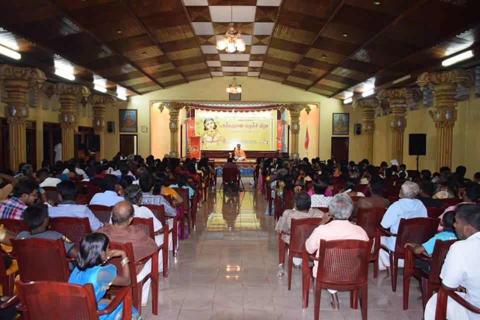 நல்லூர் கந்தபுராண எழுச்சி விழாவில் அதிகளவான பக்தா்கள் கலந்து கொள்கின்றனா்.