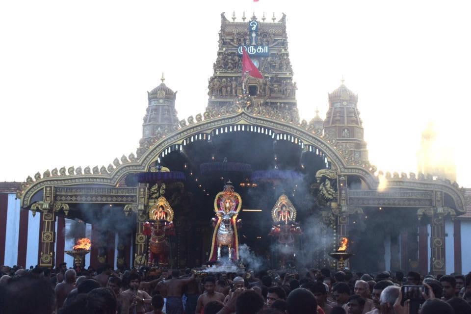 நல்லூர் கந்தசுவாமி கோவில் 15ம் திருவிழா – 12.08.2017
