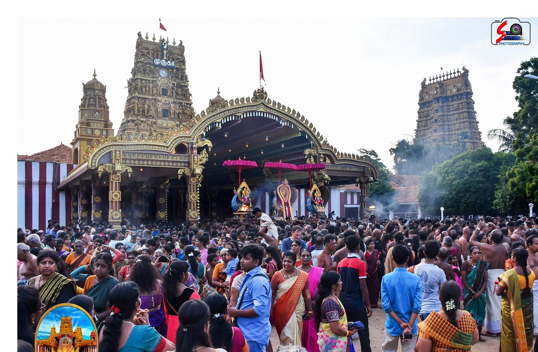 நல்லூர் கந்தசுவாமி கோவில் 18ம் திருவிழா – 14.08.2017