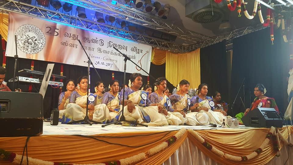 ஸ்வரராகா இசைக் கலாலயத்தின் 25 ஆவது ஆண்டு விழா சிறப்பாக நடந்தேறியது