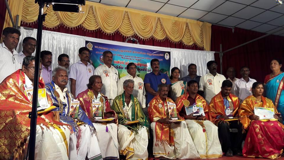 யாழ்பாணம் வடமராட்சி கிழக்கில் இடம்பெற்ற பண்பாட்டு பெருவிழா  நுால்வெளியீடு