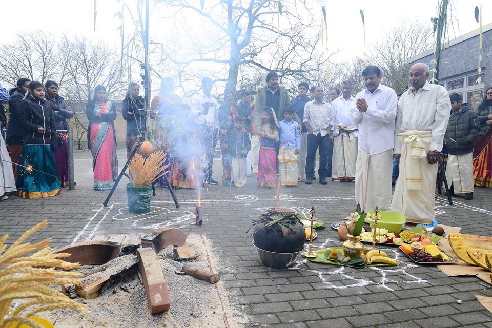 கஸ்ரொப்றவுக்சல்தமிழாலயத்தின்  சிறப்பாக இடம்பெற்ற பொங்கல்விழா2018