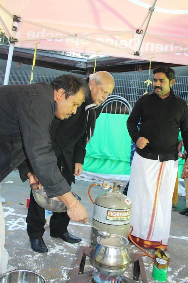 தமிழர் அரங்கத்தில் (14.01.2018)  அன்று சிறப்பாக நடந்தேறி பொங்கள்விழா