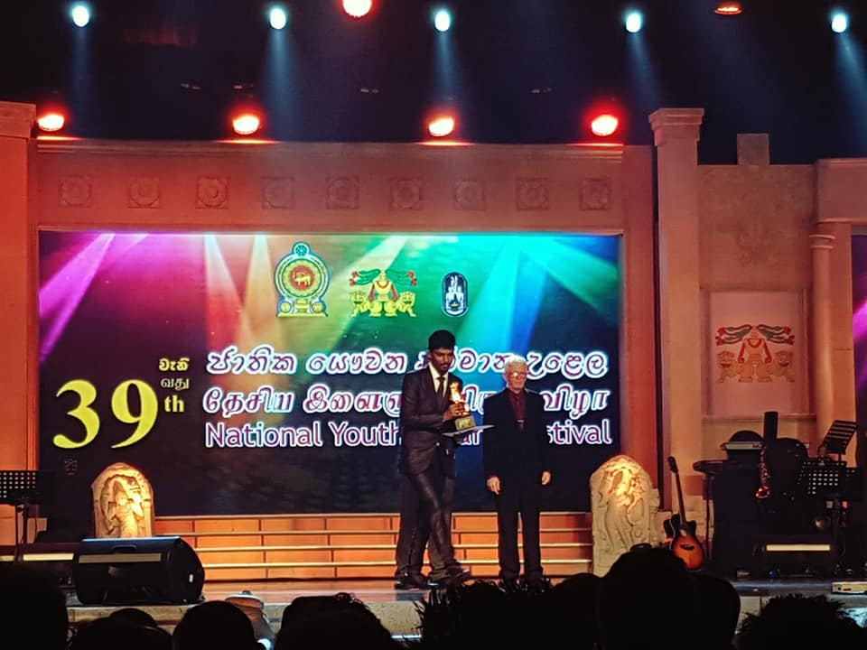 துவாகரன் தர்மராஐா கீபோட்,மிருதங்க போட்டியில் முதலாம் இடம் பெற்றுள்ளார்: