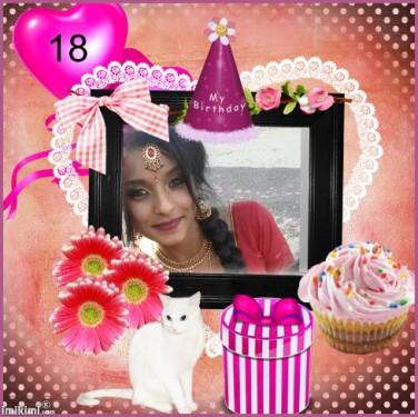 பிறந்த நாள் வாழ்த்து சுமிதா ஐெயக்குமாரன்(10.02.2018)