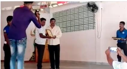 குமாரு யோகேஸ் சமூக ஜோதி விருது வழங்கி கௌரவிக்கப்பட்டுள்ளது சிறப்பு!