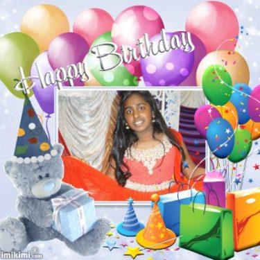 பாடகி செல்வி தேவதி தேவராசா(13வது) பிறந்தநாள் வாழ்த்து: