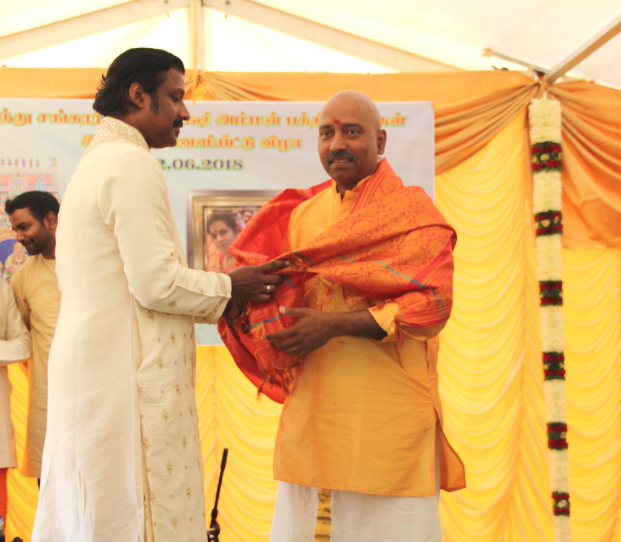 தபேலா தாளவாத்தியக்கலைஞர் திரு தேவகுருபரன் கௌரவிக்கப்பட்டுள்ளார் !