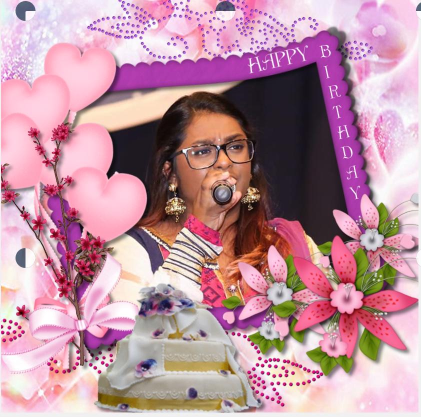 பாடகி செல்வி றம்மியா சிவா அவர்களின்பிறந்தநாள்வாழ்த்து 12.07.2018