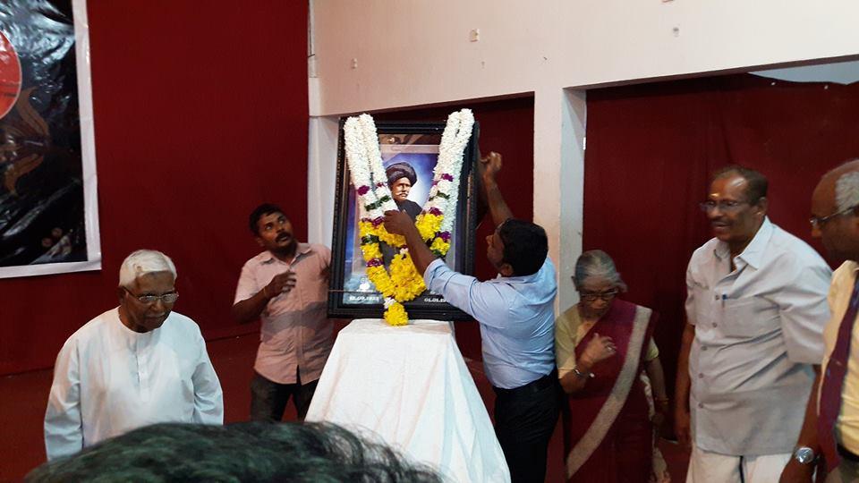 சி.வை.தாமோதரம்பிள்ளை அவர்களின் 187 வது ஜனன தின விழா யாழ் வீரசிங்க மண்டபத்தில்நடைபெற்றது.