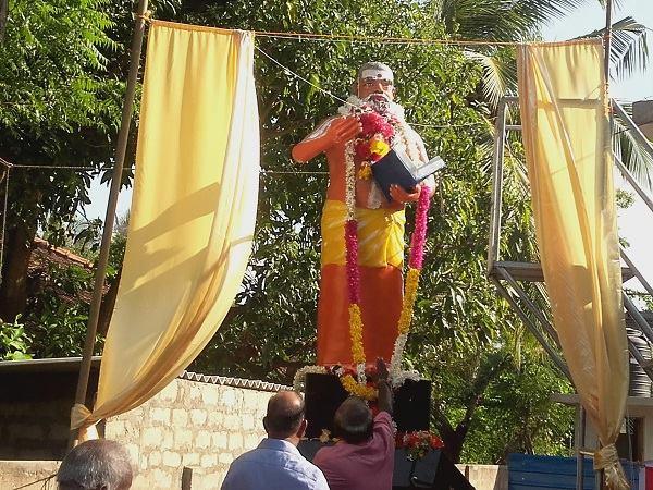சிவநெறிச் செல்வர் சண்முகவடிவேல் அவர்களுக்கு ஏழாலையில் சிலை திறப்பு