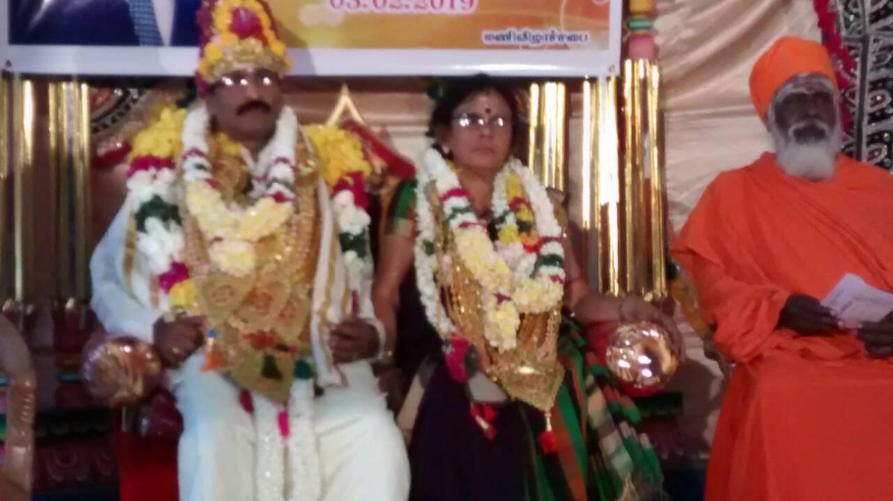 கலைஞன் சி. மாணிக்கராசா அவர்களின் மணிவிழாவில்