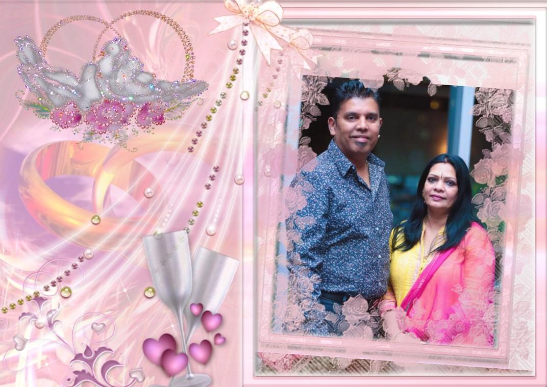 கலைஞர் பாபு தம்பதியினரின் 25வது திருமணநாள் வாழ்த்து 10.02.2019