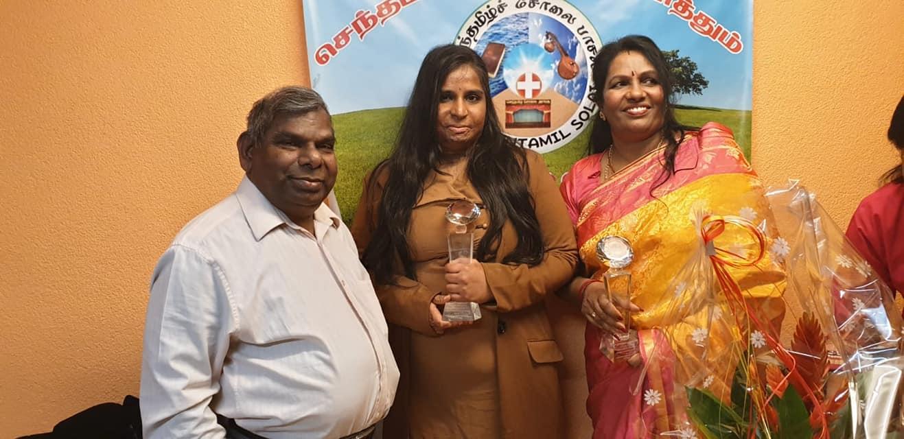 தமிழ் நாட்டில் நடைபெற்ற நந்தவனம்    விழாவில் சர்வதேச அளவில் இருபது பெண்கள் தெரிவு செய்யப்பட்டனர்
