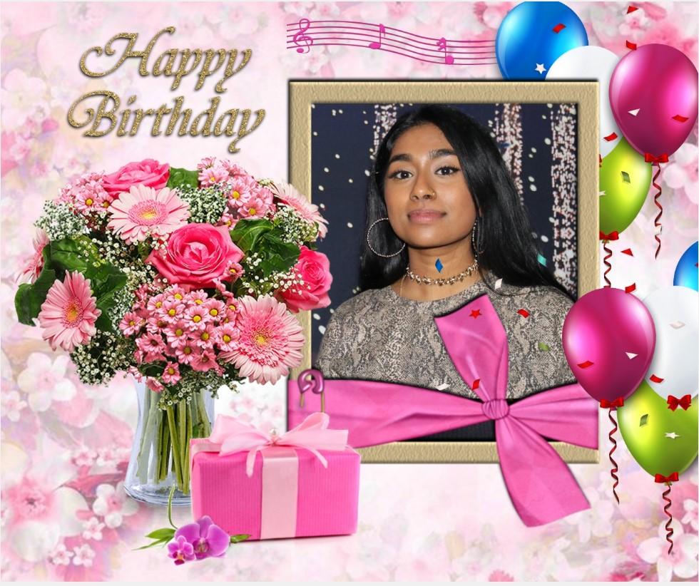 பாடகி செல்வி றம்யிகா பொன்ராம் அவர்களின் பிறந்த நாள் வாழ்த்து 27.04.2019