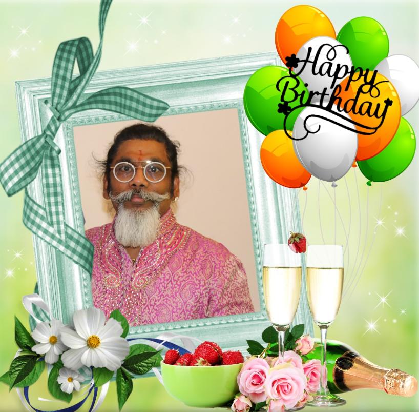 பாடகர் நடிகர் பொன்ராம்  அவர்களின் பிறந்தநாள்வாழ்த்து 28.10.2019
