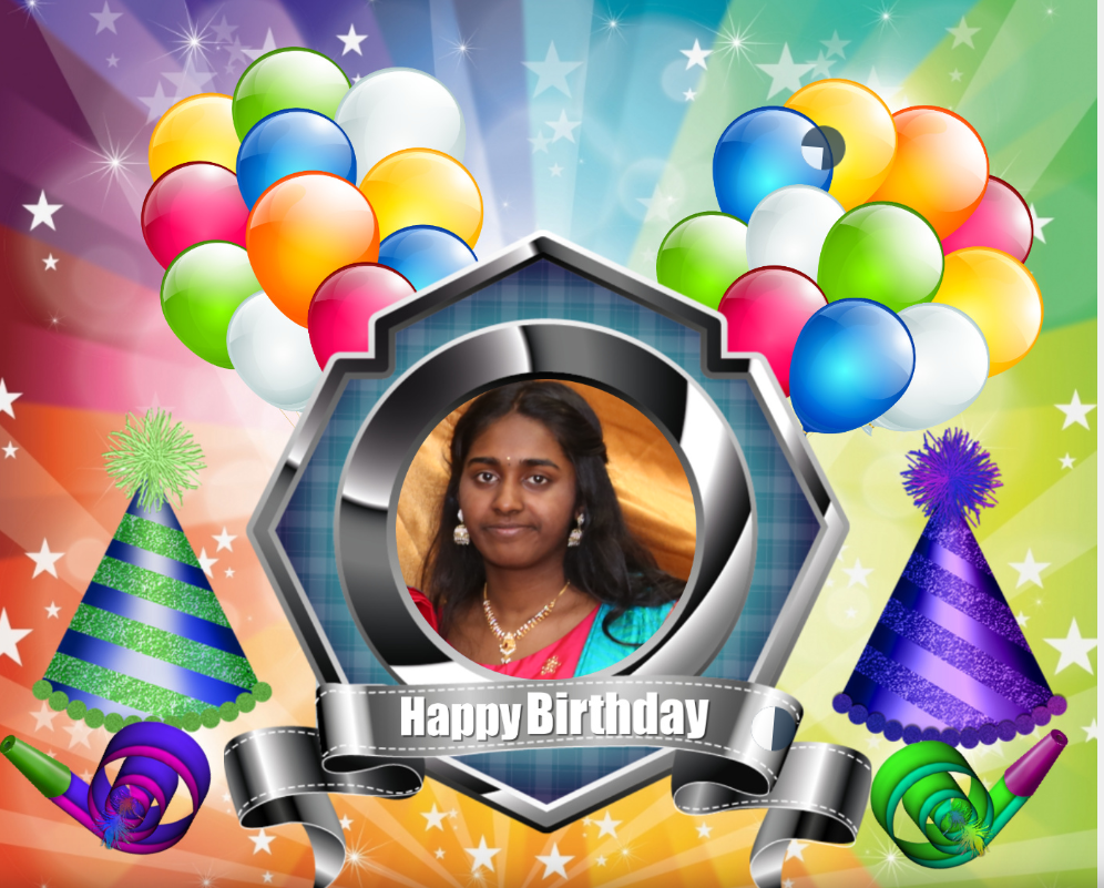 பாடகி செல்வி தேவதி தேவராசா(14வது) பிறந்தநாள் வாழ்த்து: 15.06.2019