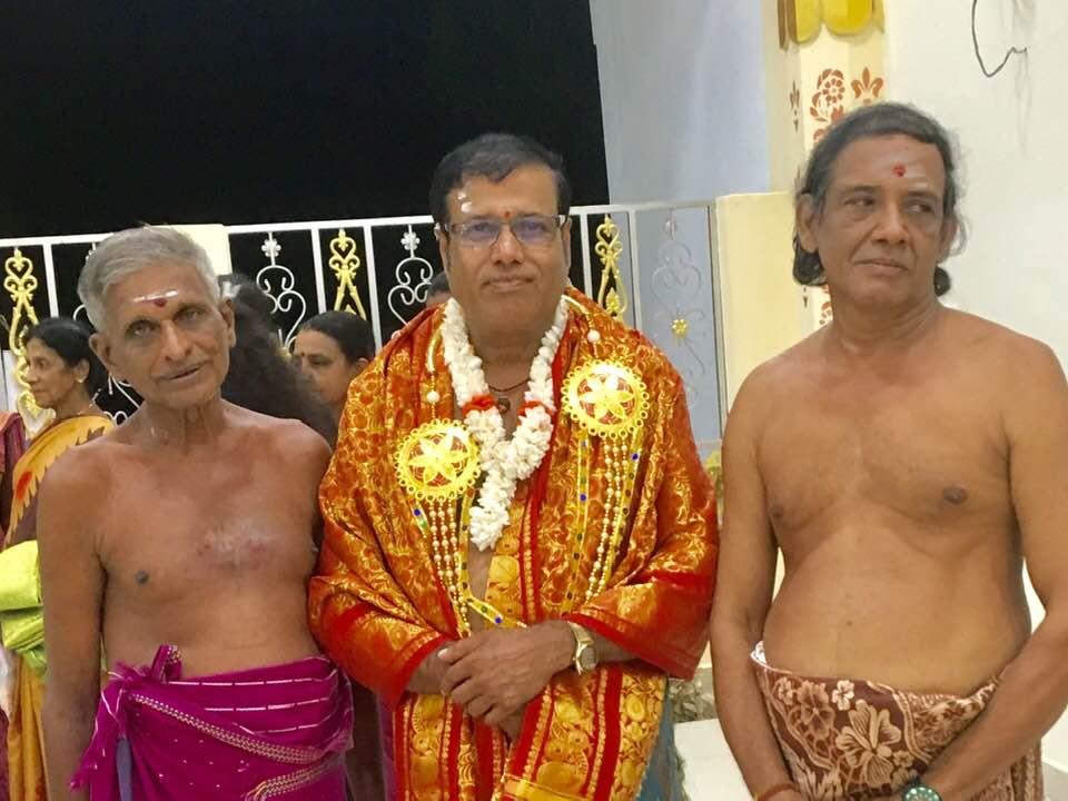 பாடகர் நடராஐா சங்கத்தானை இராக்கச்சிஅம்மன்  அலயத்தில்  கொரவிக்கப்பட்டுள்ளார் .26.07.2019
