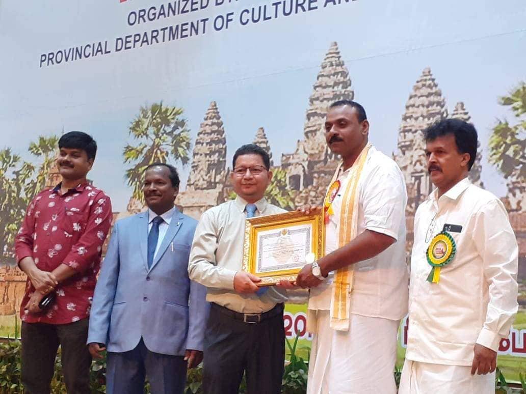 கம்பிரக்குரலோன்  நாகேந்திராசா அவர்களுக்கு 'செம்மொழி குரலோன்' பட்டம்,வழங்கப்பட்டுள்ளது