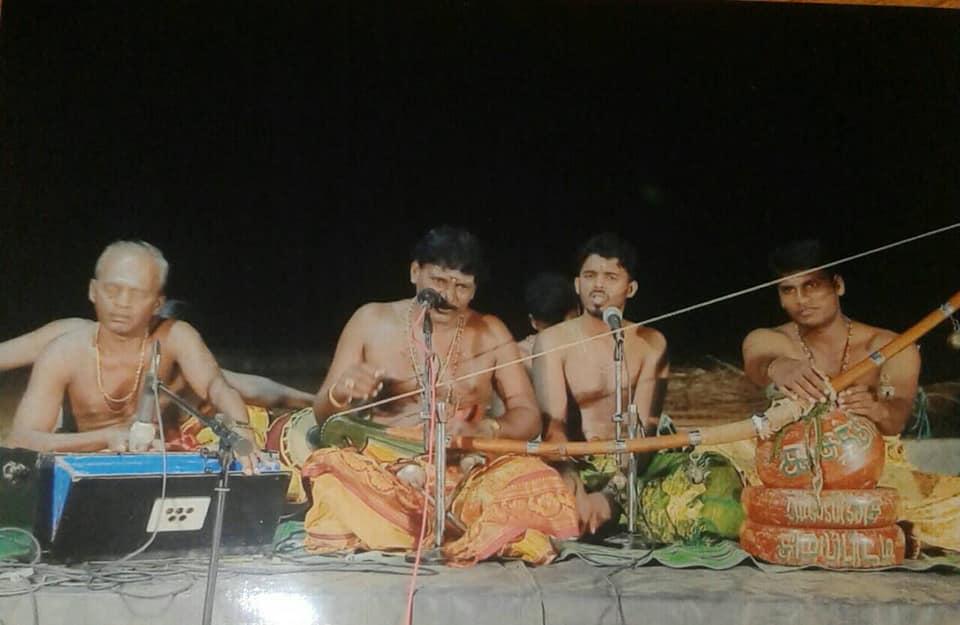 சத்தியதாசன் அவர்களின் வில்லிசை கொம்மாந்துறை காளியம்பாள் ஆலயத்தில் நடைபெற்றது
