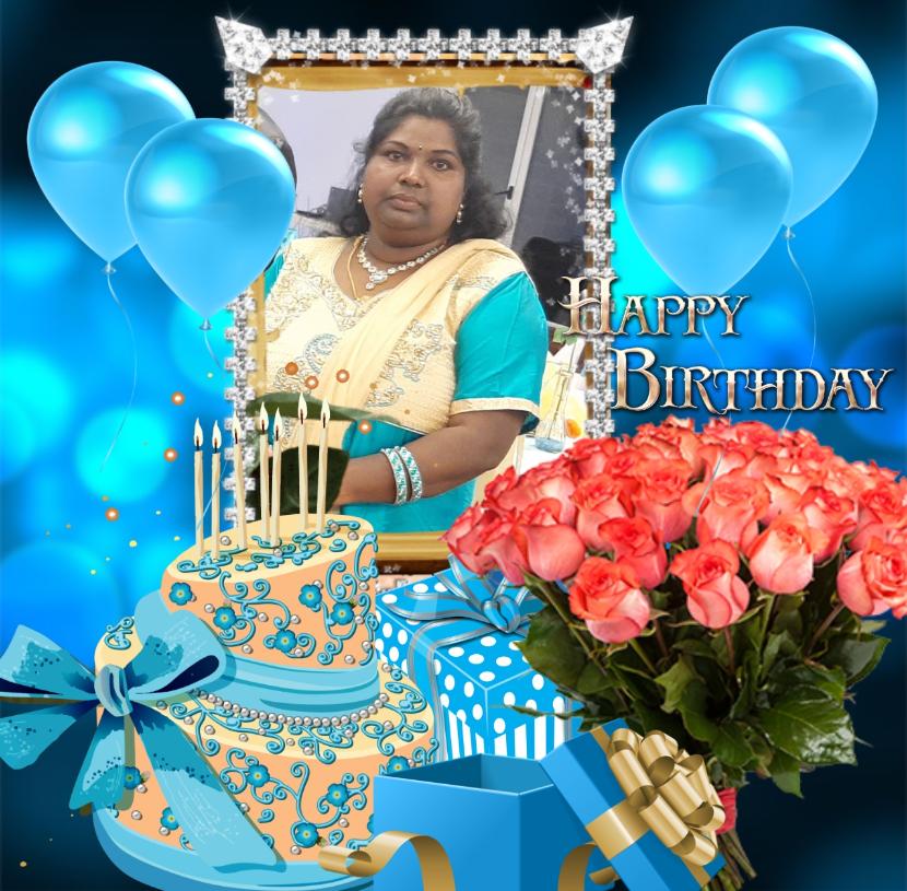 ஊடகவியலாளினி திருமதி தவமலர்  சிவநேசன் அவர்களின் 54வது பிறந்தநாள் 25.10.2019