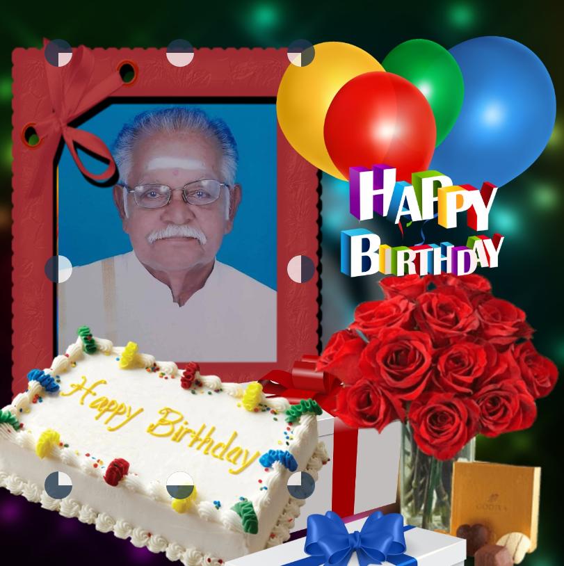 கலாபூசணம் திரு பொன் சேதுபதி அவர்களின் 81வது பிறந்த நாள்வாழ்த்து