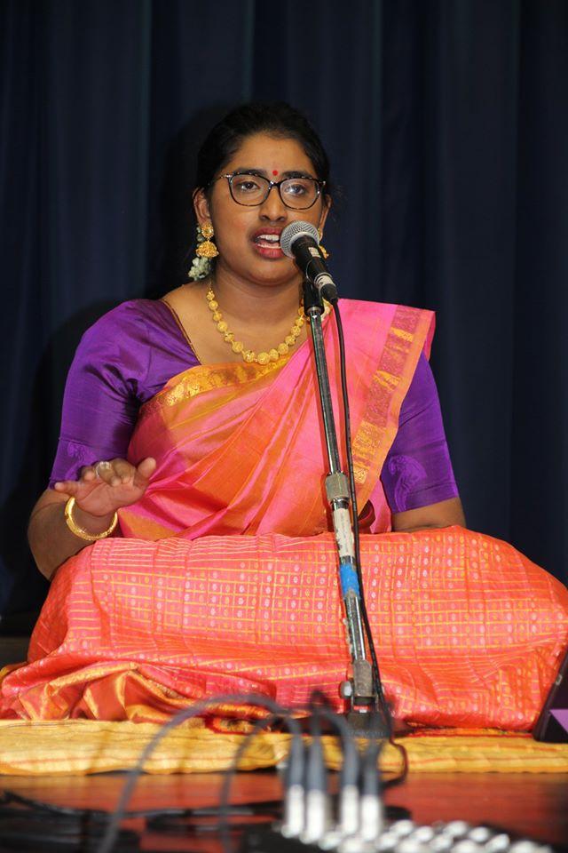 சாமகானம் இசைக் கல்லூரி சுபேக்கா கர்நாடக இசைக் கச்சேரி சிறப்பாக நடந்தெறியது
