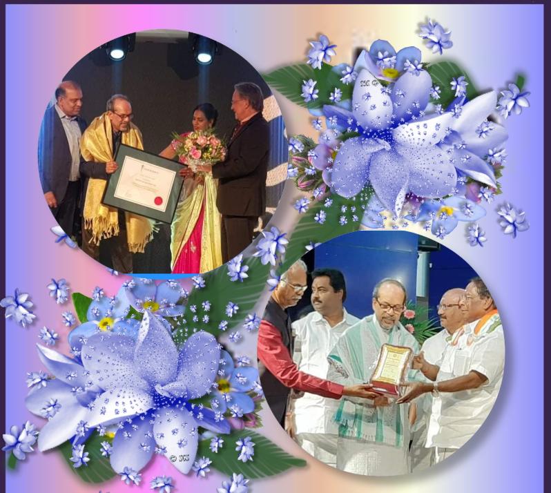 ஒரே மாத்த்தில் இரண்டு பெரும் விருதுகள் பெற்ற வாழ் நாள் சாதனையாளர் முல்லை மோகன்.