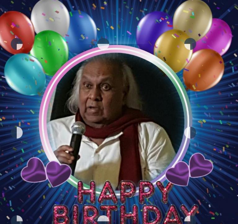 ஈழத்தின் மூத்த கலைஞர் – ஏ.ரகுநாதன் அவர்களின் 84வது பிறந்தநாள்வாழ்த்து 05.05.2020