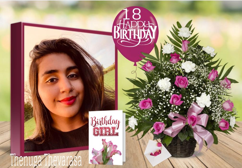 பாடகி செல்வி தேனுகா தேவராசாவின் 18வது பிறந்தநாள் வாழ்த்து: 15.11.2020