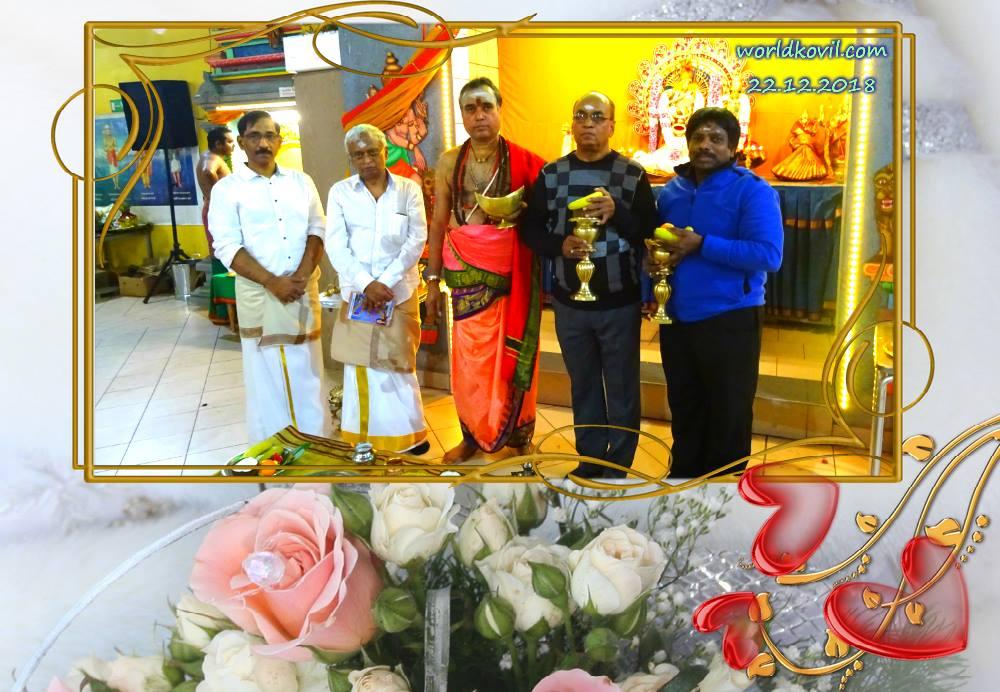 சிவத்தமி ழ்   15 ம் ஆண்டில்   முதல்  பிரதியை  ஆலயகுரு முன்பாக  ஆலய தலைவரும் தொழில் அதிபமான  ஜெகதிஸ்  அவர்கள் பெற்றுக்கொண்டார்