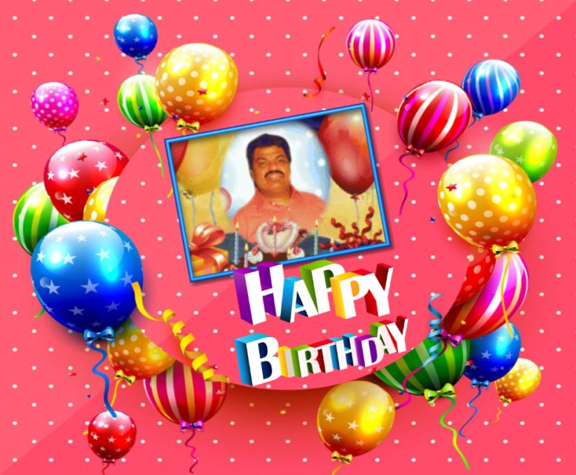 கானக்குரலோன் கணேஸ் அவர்களின் பிறந்தநாள்வாழ்த்து(25.03.2021)