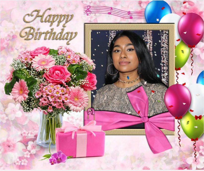 பாடகி செல்வி றம்யிகா பொன்ராம் அவர்களின் பிறந்த நாள் வாழ்த்து 27.04.2021