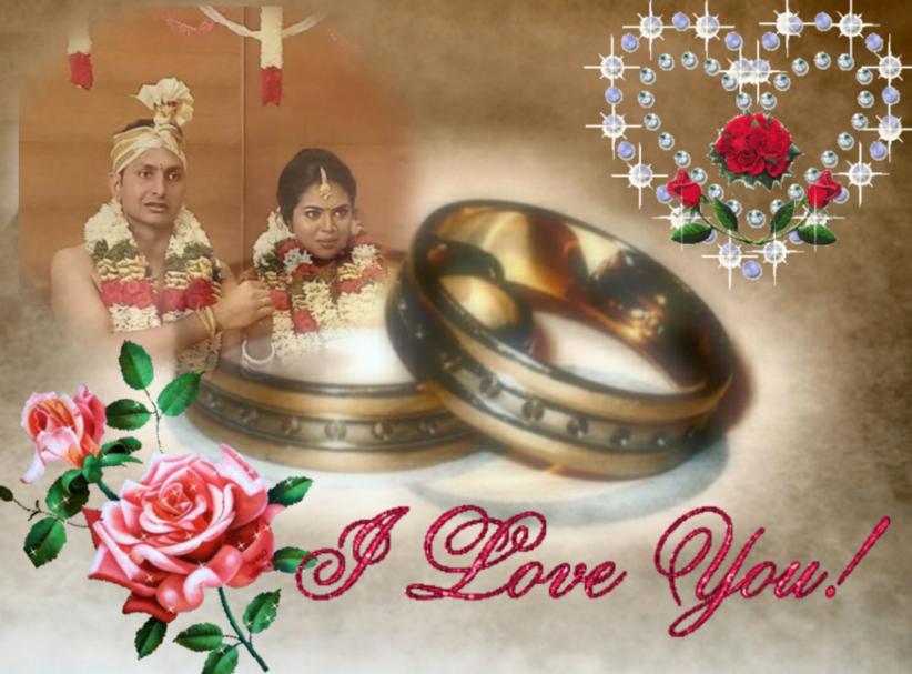 திருமணவாழ்த்து சந்தோஸ்சர்மா & ஹரிணி தம்பதிகள் 17.04.2021