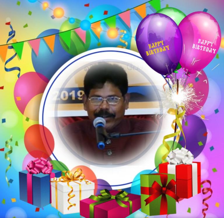 கலைஞர் S.கணேஸ் அவர்களதுபிறந்தநாள் நல்வாழ்த்து( 02.05.2021 )