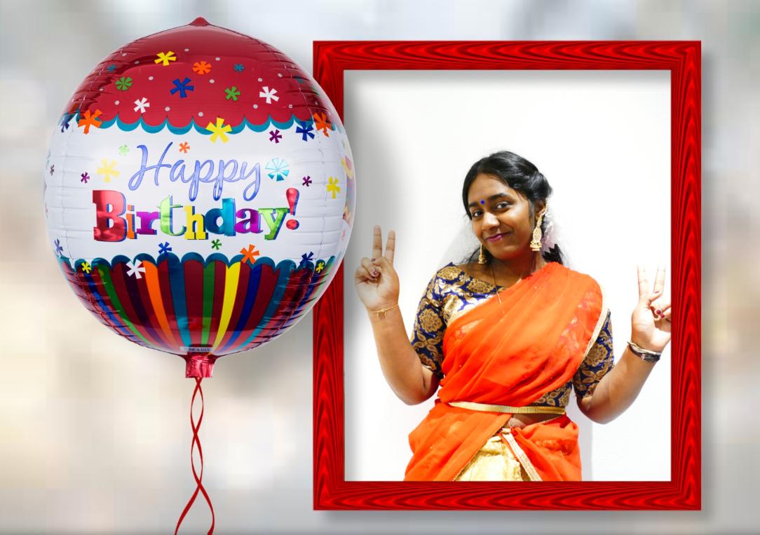 பாடகி செல்வி தேவதி தேவராசா(16வது) பிறந்தநாள் வாழ்த்து: 15.06.2021